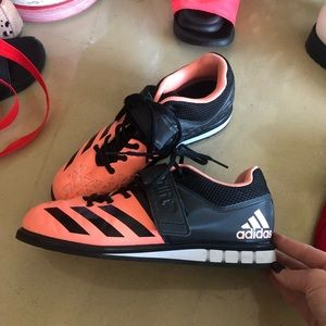adidas Powerlift weightlifting shoes, wmns size 10